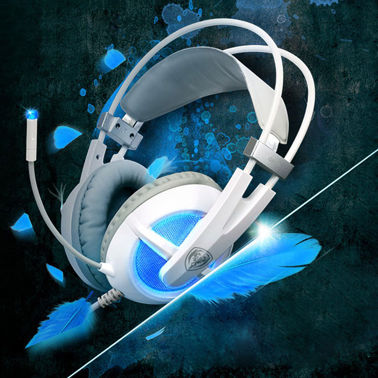 New Somic G938 Headphones 7.1 Virtual Surround Sound USB Gaming Headset with Mic Volume Control for PC<br>