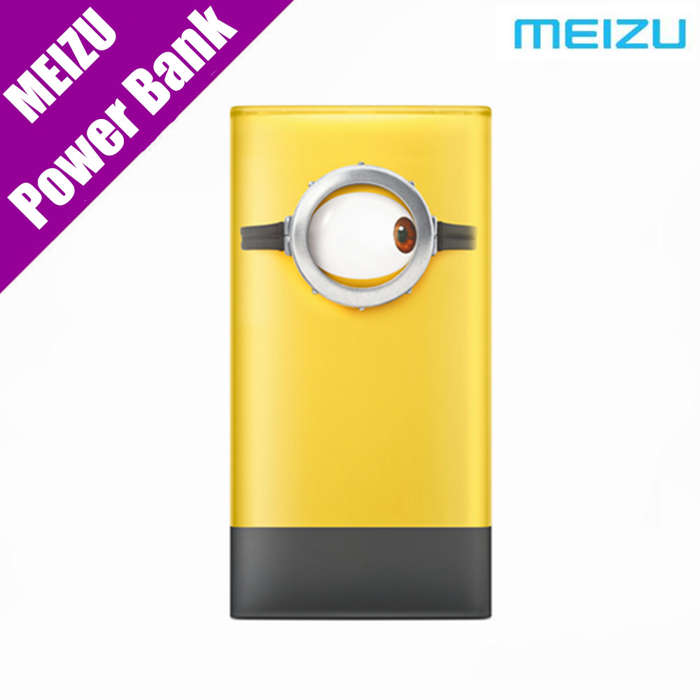 Original MEIZU Minions M20 Power Bank 10000mAh 24W Flash Quick Charge External Battery 5V/3A 9V/2.6A 12V/2A Smart Phone