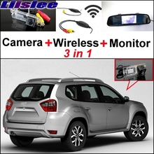 Liislee 3 in1 Parking System For Nissan Terrano + Special Rear View Wifi Camera + Wireless Receiver + Mirror Monitor Easy Back(China)
