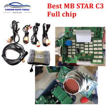 2017  best quality MB Star C3 multiplexer without HDD all software same as star C4 with All New Relay and Strong Copper DHL Free