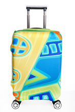 "Fashion Travel Luggage Protector Suitcase Cover 20"" 24"" 26"" 30"" Luggage Covers Apply to 18""~32""  Cases"