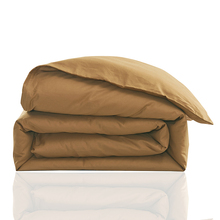 Wholesale of 100% cotton solid one piece bedding duvet cover 220x240cm /quilt bag/bed linen king size(China)