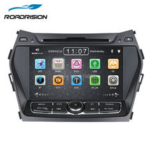 Car DVD Stereo indash Headunit GPS Navigation for Hyundai Santa FE/IX45 with GPS Bluetooth RDS IPOD SWC Free Map Card