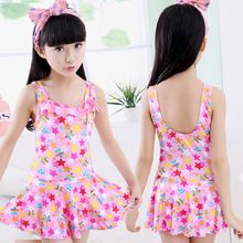 2017 Baby Swimsuit Girls Swimwear One Piece Swimsuit Children Bathing Suit Girl Swimming Suit Cute Princess Baby Swimwear Suit