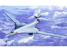 Trumpeter 1/72 scale model 01620 Tu-160 pirate flag supersonic bomber
