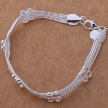 Multilayer Chain Bracelets Lucky Clover Bracelet For Wedding Dating Party AB174