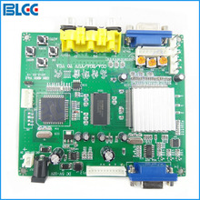 CGA  to VGA HD Video Converter Board 1 VGA Single Output for CRT LCD PDP Monitor for Arcade Games