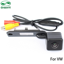 GreenYi Special CCD Chip Car Rear View Camera For VW Touran Passat Jetta Caddy Golf Plus Multivan T5 Transporter Skoda Superb