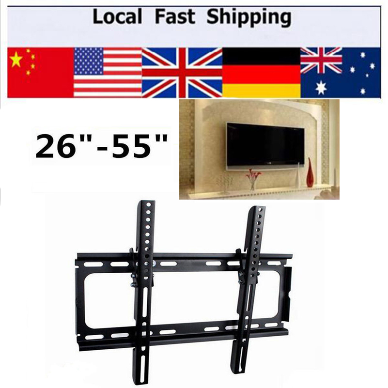 Hottest Ultra Slim 3D LCD LED TV Wall Bracket Mount 26 32 37 40 42 46 50 52 55 TV Stent<br><br>Aliexpress