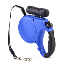 5 Meter Length Top Grade Retractable Dog Leashes/Lead with LED Light Retractable Leads for Dogs  Pets Night light 40Kg