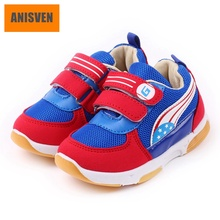 Anisven famous brand new arrivals fashion sneakers for boy, 2017 keep warm children winter shoes for kids, high quality footwear(China)