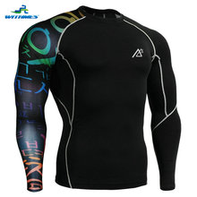 CP-B3 New 2016 Brand Mens Active Wear Compression USA Soccer Tights Camping Shirts Pro Bowling Super Rugby Jersey For Hockey 4XL