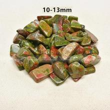 New 100g 10-13mm Natural Rare Flower Green Stone Crystal Stone Rocks Specimen Lucky A255GS Garden Stone Natural Quartz Crystals