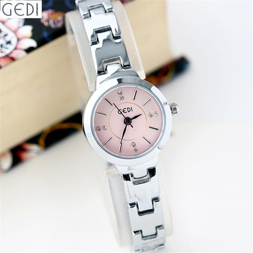 Business Watches Women Fashion Watch 2016 Stainless Steel Bracelet Clasp Fancy Clock Pink Black White Color Ladies Wristwatch<br><br>Aliexpress