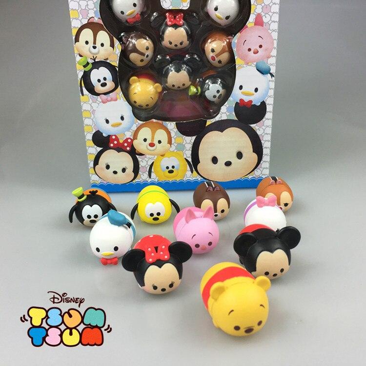 Disney Fashion Toys For Kids Cute Cartoon Plastic Cartoon Action Figures Anime Tsum Juguetes Figures Brinquedos Zy112<br><br>Aliexpress
