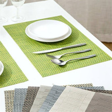 Happy Sale  PVC Quick-drying Placemats Insulation Mats Coasters Kitchen Dining Table Oct1027