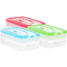 Hot-sale Portable Double Plastic Egg Storage Box Crisper  Sale