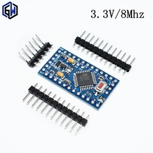With the bootloader  1pcs pro mini atmega328 Pro Mini 328 Mini ATMEGA328 3.3V/8MHz for Arduino