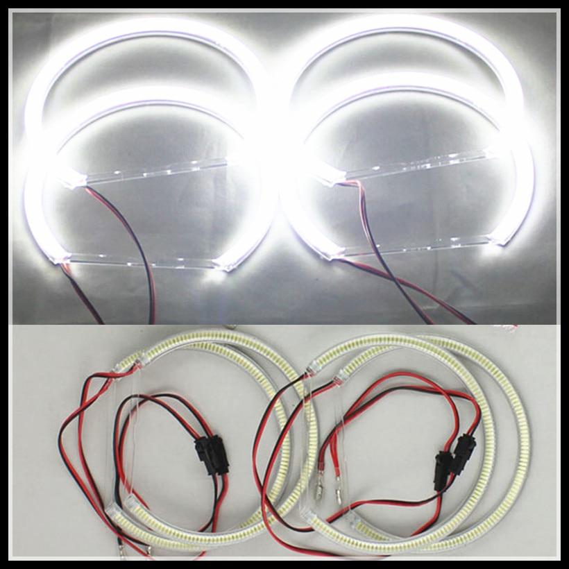 Rockeybright 120SMD led angel eye ring for BMW E36 E38 E39 E46 led halo ring 131 for bmw e46 projector headlights led angel eyes<br>