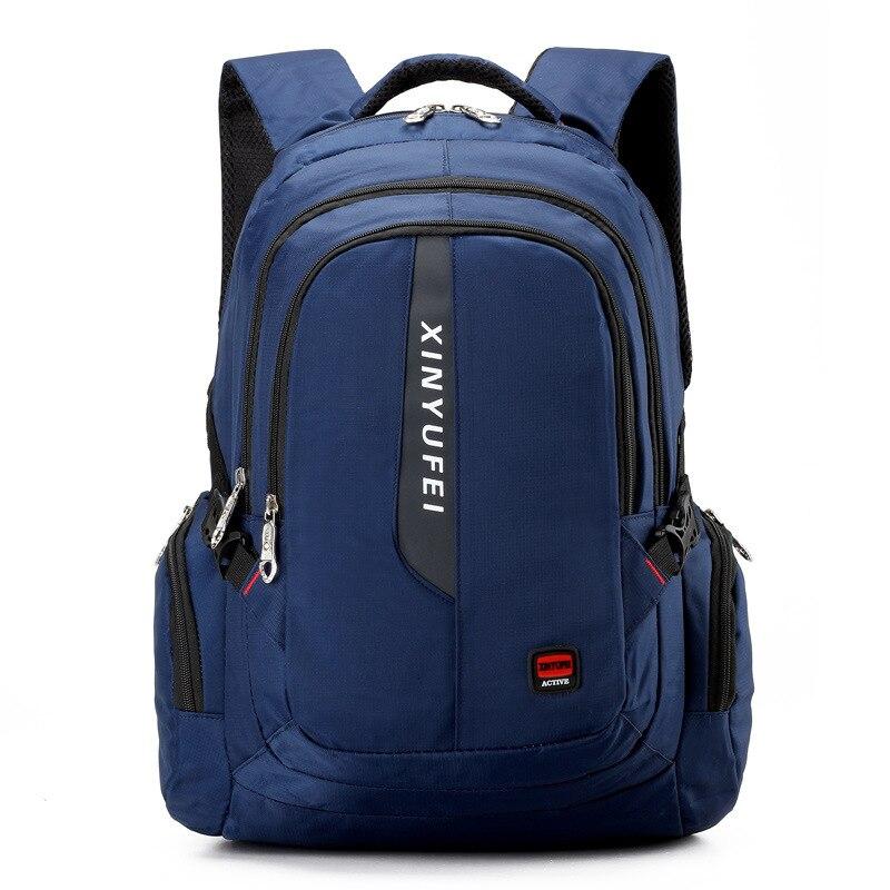 Women &amp; Men Anti Theft Business Laptop Backpack Multifunctional School backpack large travel Rucksack compurter backpack black<br>