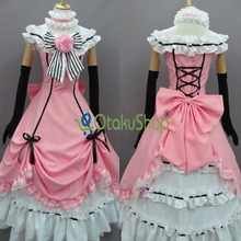 Kuroshitsuji Black Butler Ciel Phantomhive Cosplay Costumes Women girls Halloween dress party clothing Custom made Uniform