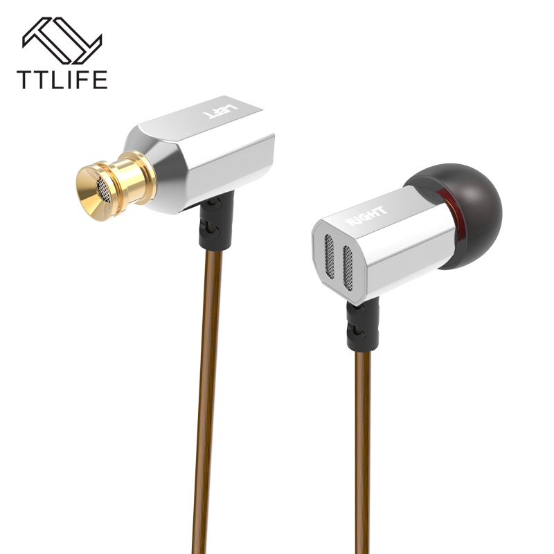 TTLIFE  ED9 Original Metal 3.5mm Stereo Earphone Bass HIFI DJ Earbud Headset With Mic For Mobile Phone SAMSUNG iPhone<br><br>Aliexpress