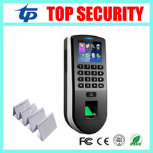 Biometric fingerprint & RFID card & password time attendance time clock fingerprint door access control system tcp/ip linux zk