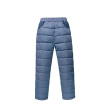 Warm Winter Children's Clothing Kids Down Pants Baby Boys And Girls Casual Sport Pant Children Down Cotton Warm Leggings(China)