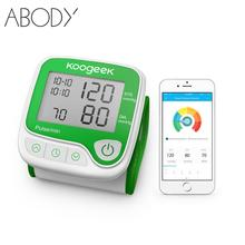 Koogeek Smart Blood Pressure Digital Tester Heart Rate Monitor Wrist Blood Pressure Meters with Memory Function Health Care