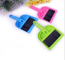 1PC LONGMING HOME Portable Mini Computer Desk Keyboard Desk Table Brush Dustpan Broom Notebook Car Cleaner OK 0163(China)