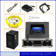 Waterproof Drain Pipe Endoscope Inspection System Pipeline Borescope Snake Video Inspection Camera 50m DVR Record 8G SD Card