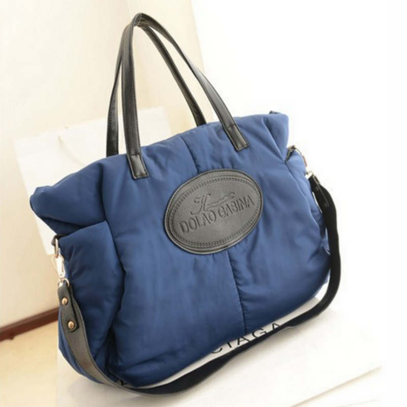 Winter Women down bag 2017 womens handbag space bag cotton-padded jacket bag one shoulder cross-body handbag large bag<br><br>Aliexpress