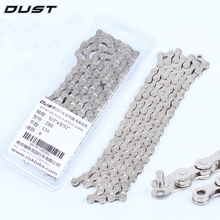 DUST Bicycle Chain 10 Speed 9 Speed 6-7-8 Speed 116 links MTB Mountain Road Bike Bicicleta Part Steel Full Plating Cycling Chain
