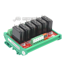 6 channel  driver Matsushita relay module control panel board amplifier board PLC relay board 6S1-24V 12V