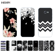 Buy Samsung Galaxy A7 2017 TPU Phone Case A320 A520 A720 Shell Transparent A3 A5, 2017 Back Cover Black & White Pattern for $1.48 in AliExpress store