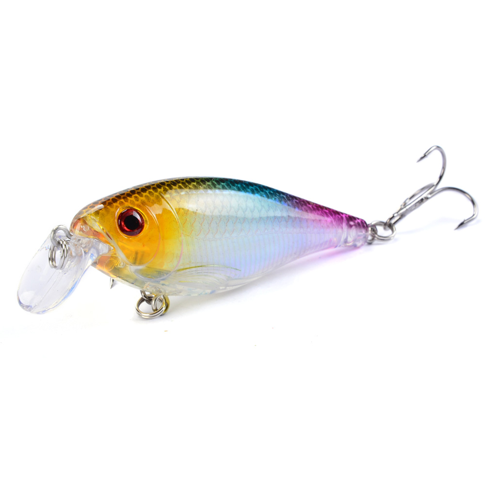 LINGYUE 1PCS Fishing Lures 8.5cm/12.5g Minnow Hard Baits Artificial Make High Quality Bass Crankbait Wobblers Fish Tackle 10