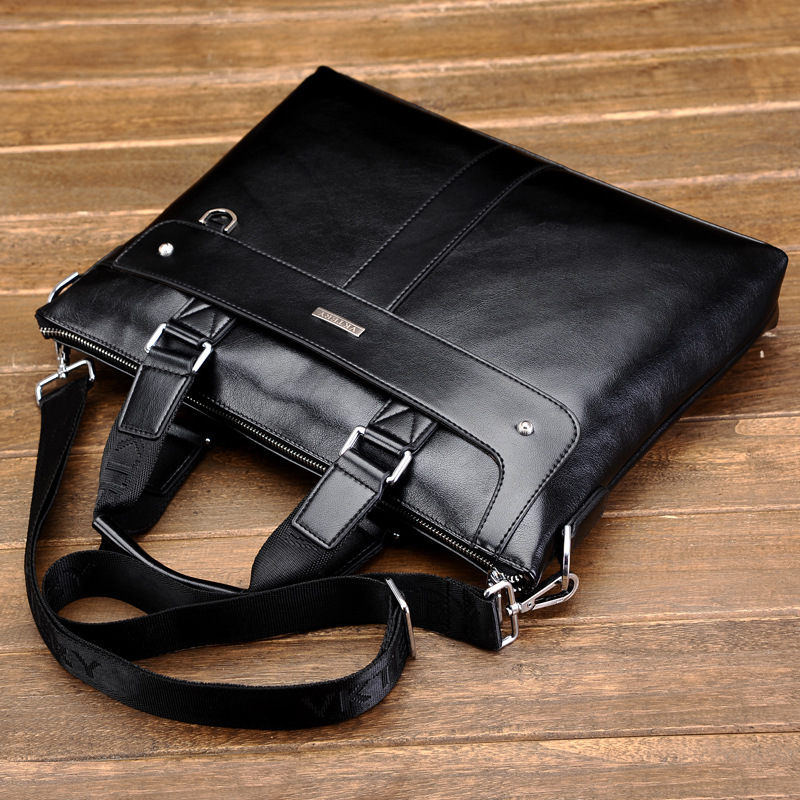 New arrival Brand mens messenger bag,fashion business handbag,handsome shoulder bag,large capacity briefcase Free Shipping<br>
