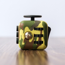 Anti Stress Toy Fidget Cube for Fidgeters Relieve Stress Anxiety Boredom All at Your Finger Tips Fidget Cube With PU Leather Box