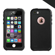 IP68 Waterproof Case For iPhone 5 5S SE Redpepper Shock Dirt Snow Proof Cases Armor PC + TPU Cover for iPhone5 Wholesale(China)