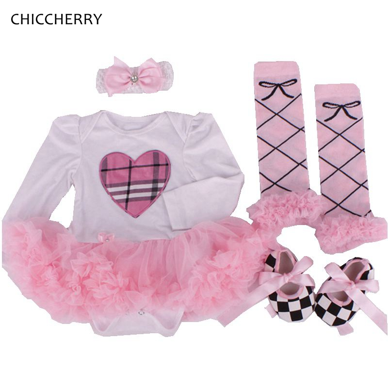 Valentines Day Baby Outfits Heart Lace Romper Dress Lattices Wedding Party Tutu Gifts Headband Shoes Set Newborn Girls Clothes<br><br>Aliexpress