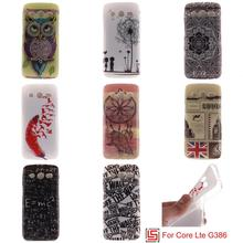 Cheap Ultra Thin TPU Silicone Soft Phone Mobile Cell Case kryty Cover Cove Bag For Samsung Galaxy Core Lte G386 G386F SM-G386F