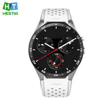 Original Kingwear KW88 Smart Watch PK Finow X5 X61.39'' Amoled 400*400 Smart Watch Calling 2.0MP Camera Gravity Sensor Pedometer