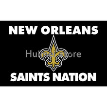 3X5FT New Orleans Saints USA Football Flag SAINTS NATION flag high quality 100D polyester flag Events home furnishings