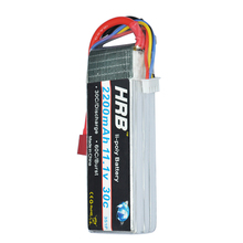 HRB Lipo Battery 11.1V 2200mAh 30C for RC Trex 450 Fixed-wing Helicopter Quadcopter Airplane Car Lipo 3s Bateria(China)