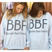 New winter BBF Monogrammed cashmere Crewneck Long Sleeves Printed Sweatshirts Casual Sudaderas Girls Pullovers Women Tops