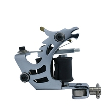 Wholesale -Top  Pro Handmade Tattoo Machine Coils 10 wrap popular Cast Black For Beginner Shader Liner Free Shipping