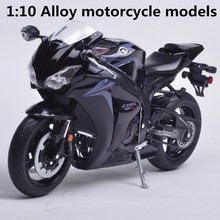 1:10 Alloy motorcycle models,high simulation metal casting motorcycle toys,Honda CBR1000RR rally Road Racing,free shipping