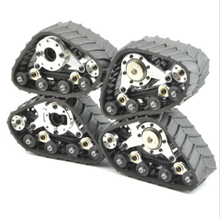 Tracks set 4pcs for Tamiya CC01/F350/CR-01/HPI WR8/AXIAL SCX10,YETI/RC4WD TF2