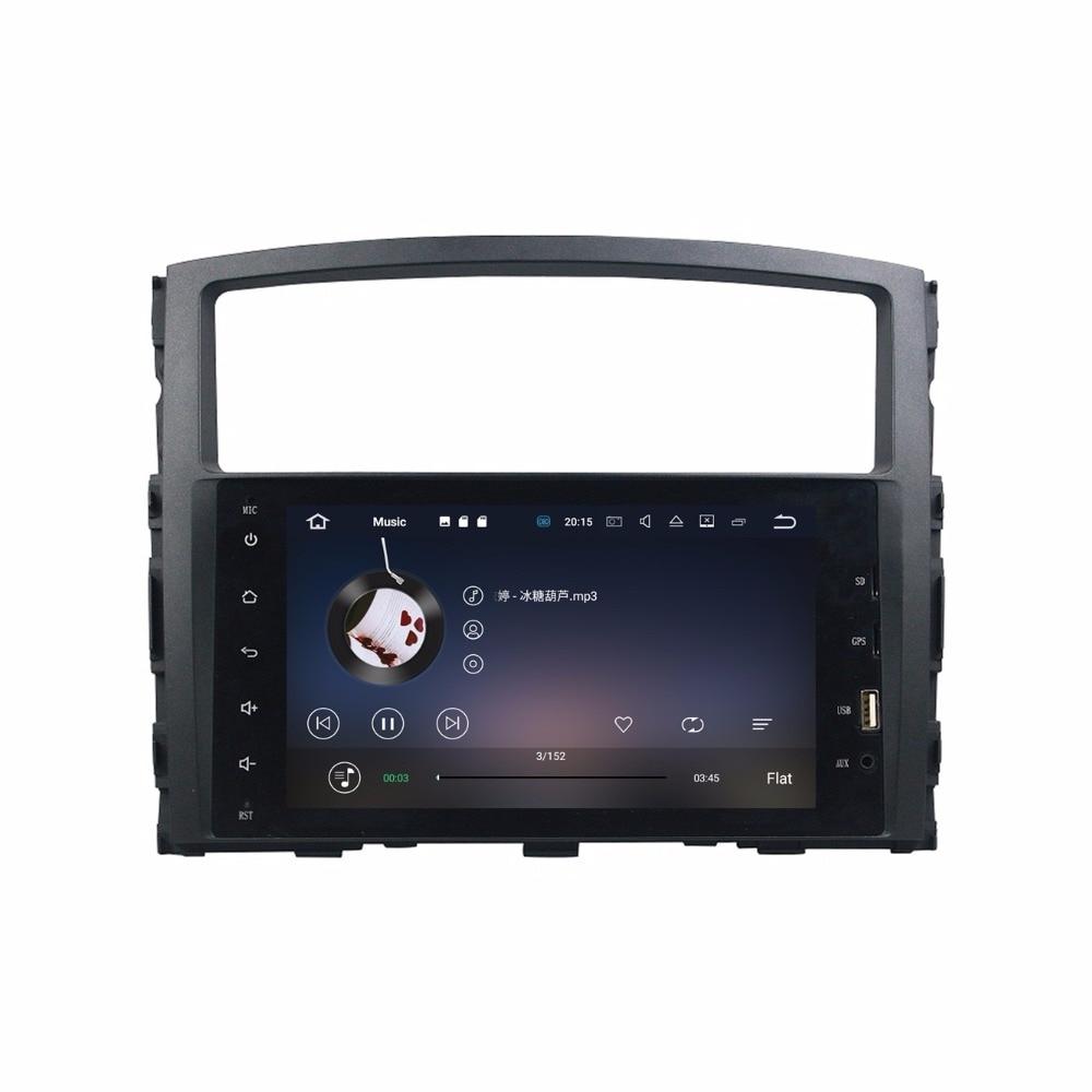 2 din 8″ Android 7.1 Car Radio GPS Multimedia Head Unit for Mitsubishi PAJERO V93 V97 With 2GB RAM Bluetooth WIFI Mirror-link
