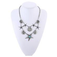 Maxi Collier Plastron Summer Jewelry Beach Necklace Ocean Jewelry Seashell Necklace Starfish Necklace Online Shopping India